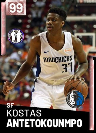 4cf0153ecdc5 Kostas Antetokounmpo - NBA 2K19 Custom Card - 2KMTCentral
