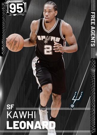 Kawhi Leonard - NBA 2K19 Custom Card - 2KMTCentral