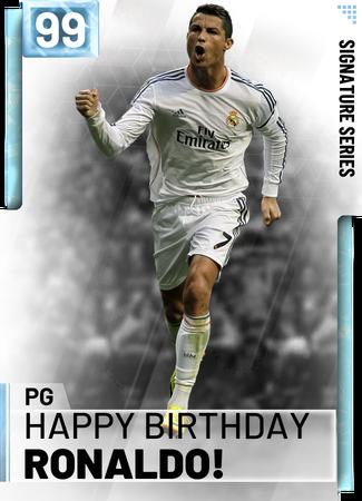 Happy Birthday Ronaldo Nba 2k19 Custom Card 2kmtcentral