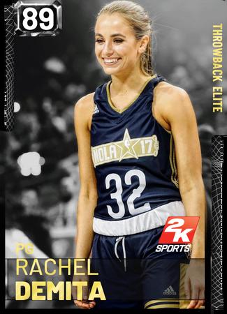 Rachel DeMita - NBA 2K19 Custom Card - 2KMTCentral