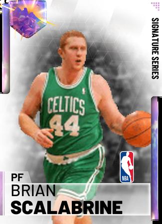Brian Scalabrine - NBA 2K19 Custom Card - 2KMTCentral