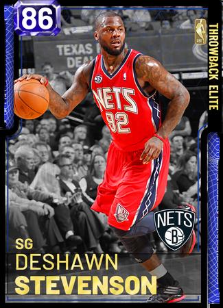 DeShawn Stevenson - NBA 2K19 Custom Card - 2KMTCentral