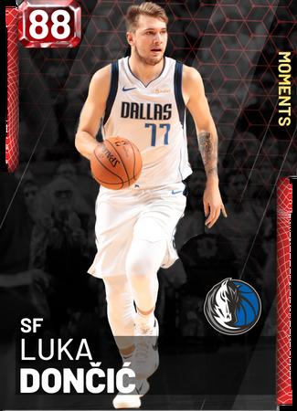 Luka Dončić - NBA 2K19 Custom Card - 2KMTCentral