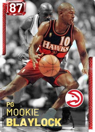 Mookie Blaylock - NBA 2K19 Custom Card - 2KMTCentral