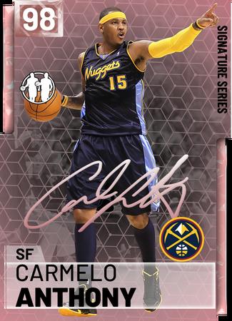 Carmelo Anthony - NBA 2K19 Custom Card - 2KMTCentral