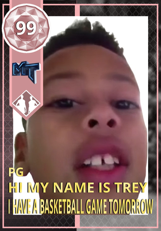 Hi My Name Is Trey I Have A Basketball Game Tomorrow Nba 2k18 Custom Card 2kmtcentral