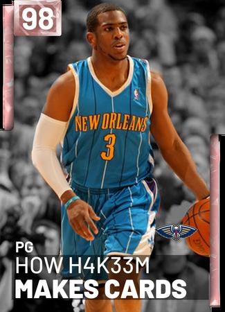 HOW H4K33m Makes Cards - NBA 2K19 Custom Card - 2KMTCentral