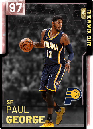 efbee51709d paul george - NBA 2K19 Custom Card - 2KMTCentral