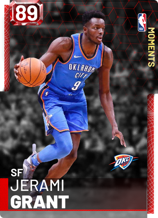 Jerami Grant - NBA 2K19 Custom Card - 2KMTCentral