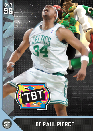 '08 Paul Pierce diamond card