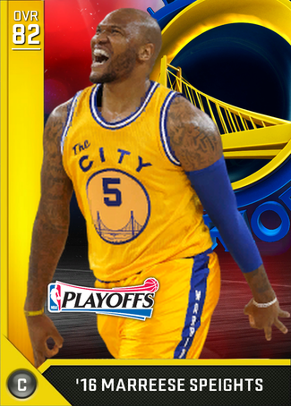 '16 Marreese Speights gold card