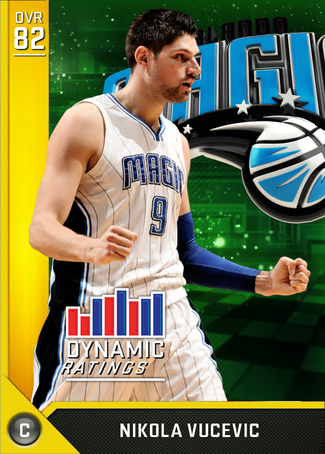 Nikola Vucevic gold card