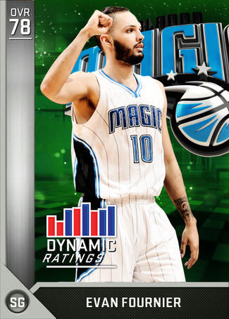 Evan Fournier silver card