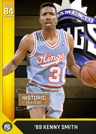 '89 Kenny Smith gold card