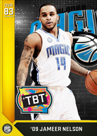 '09 Jameer Nelson gold card