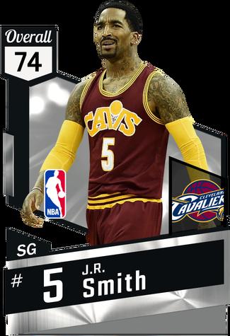 J.R. Smith silver card