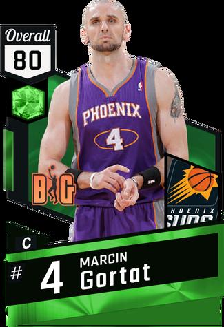 '11 Marcin Gortat emerald card