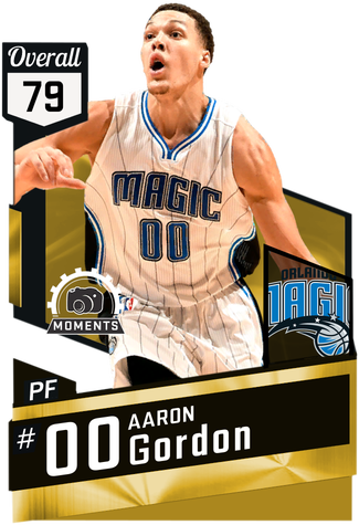Aaron Gordon gold card