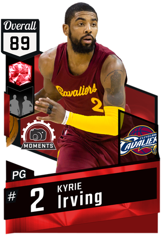 Kyrie Irving ruby card