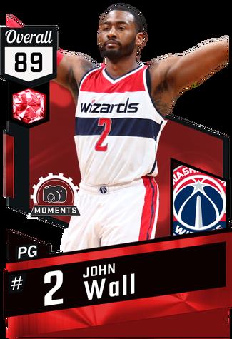 John Wall ruby card