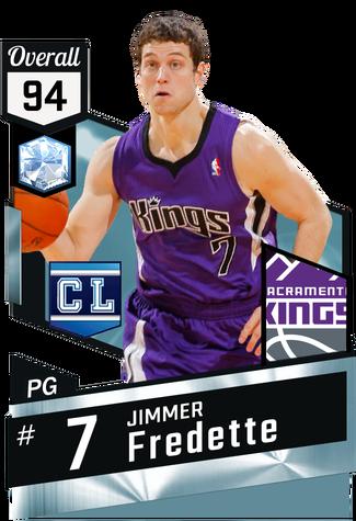 '11 Jimmer Fredette diamond card