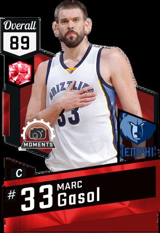 Marc Gasol ruby card