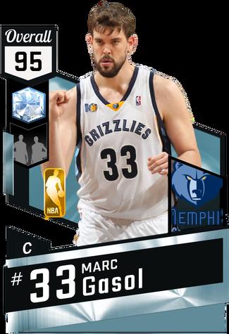 Marc Gasol diamond card
