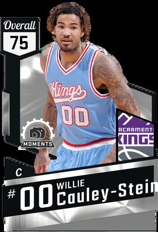 Willie Cauley-Stein silver card