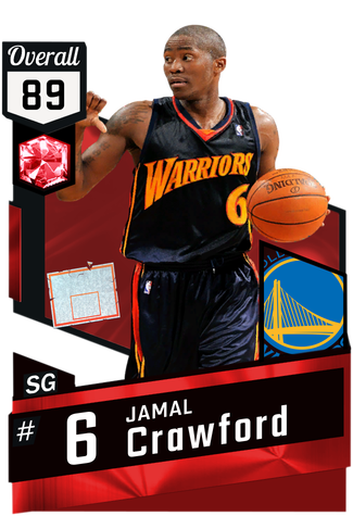 '09 Jamal Crawford ruby card