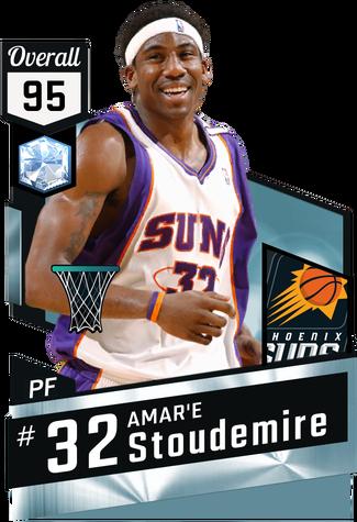 '05 Amar'e Stoudemire diamond card