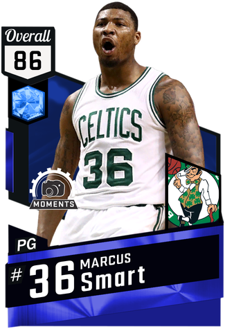 Marcus Smart sapphire card