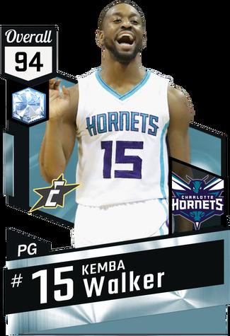 Kemba Walker diamond card