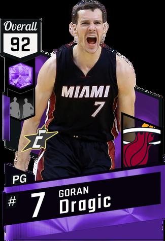 Goran Dragic amethyst card