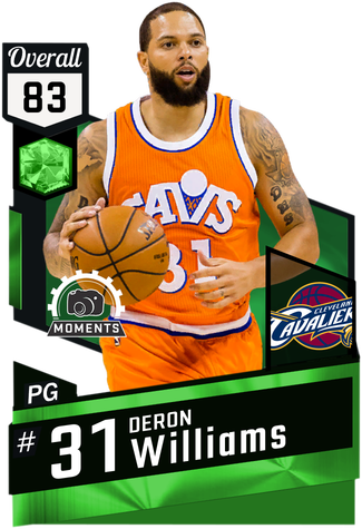 Deron Williams emerald card