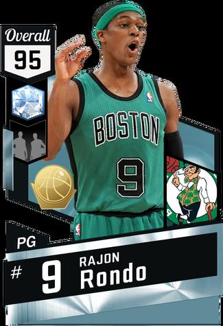 '12 Rajon Rondo diamond card
