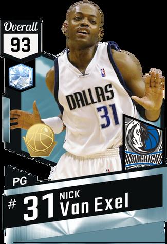 '03 Nick Van Exel diamond card