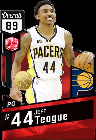 Jeff Teague ruby card