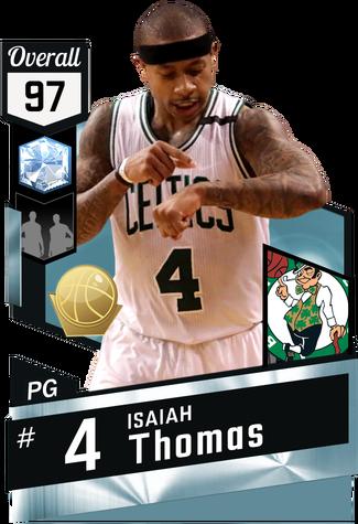 Isaiah Thomas diamond card