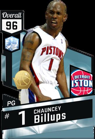 '04 Chauncey Billups diamond card