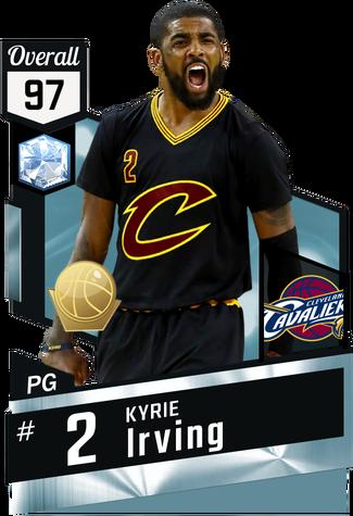 Kyrie Irving diamond card