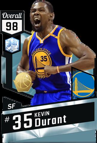 Kevin Durant diamond card