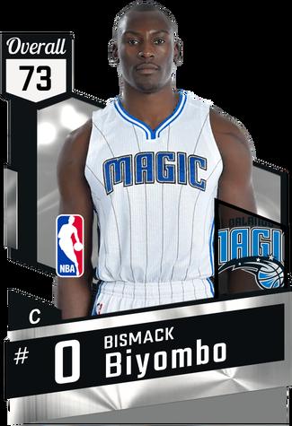 Bismack Biyombo silver card