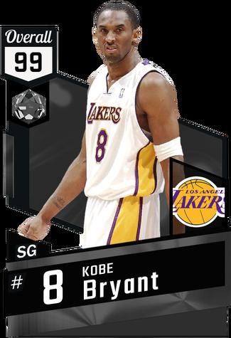 '06 Kobe Bryant onyx card