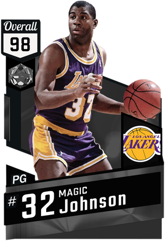 '87 Magic Johnson onyx card
