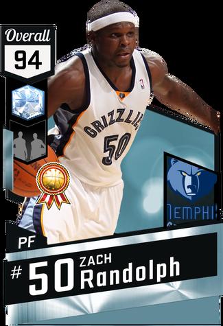 '10 Zach Randolph diamond card