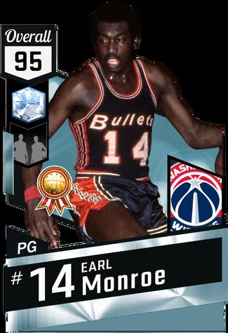 '69 Earl Monroe diamond card
