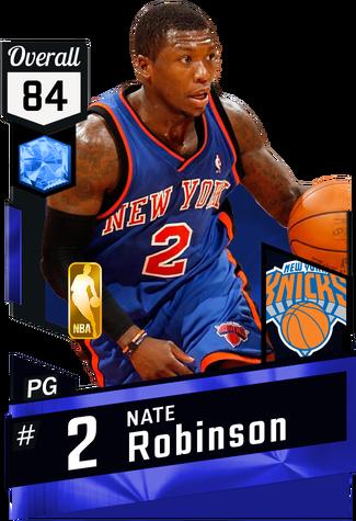 Nate Robinson sapphire card