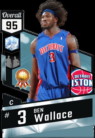 '03 Ben Wallace diamond card