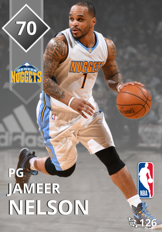 Jameer Nelson silver card
