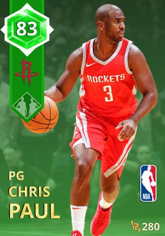 Chris Paul emerald card